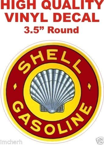 1 Vintage Stle Shell Gasoline - Very Nice