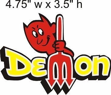 Dodge Demon Decal