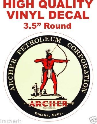 1 Archer Petroleum Products Decal