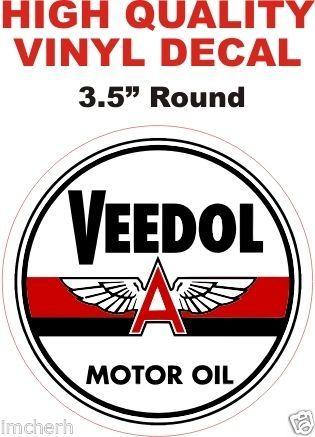 1 Veedol Motor Oil Round