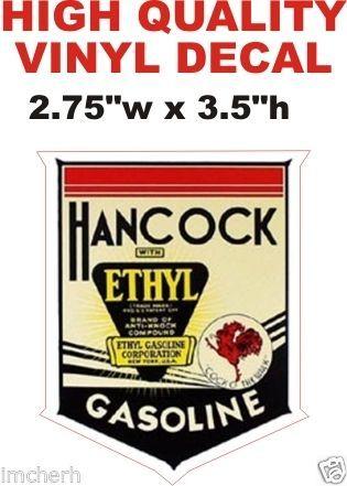 1 Hancock Ethyl Gasoline - Very Nice