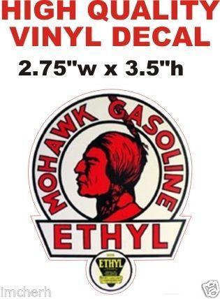 2 Vintage Style Mohawk Ethyl Gasoline