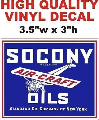Socony Aircraft Oils