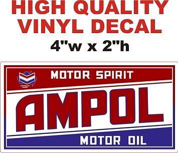 1 AMPOL Motor Oil Motor Spirit