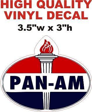 Pan-Am Oval Shape decal - Nice