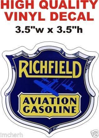 Richfield Aviation Gasoline