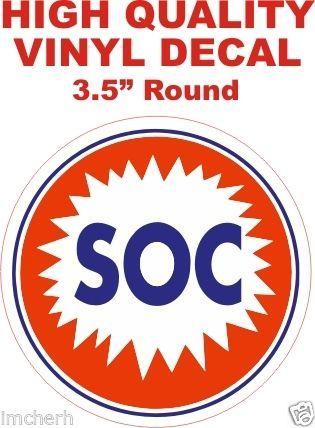 SOC Gasoline Decals - Nice