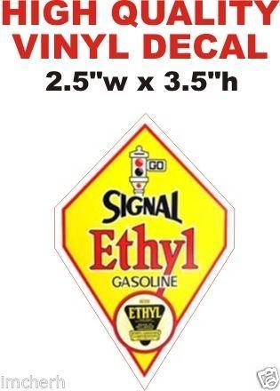 Signal Ethyl Gasoline - Die Cut To Shape