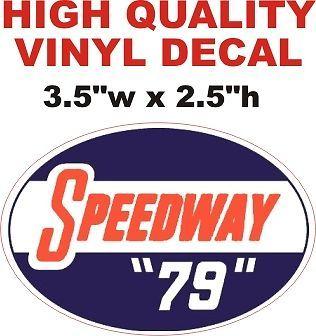"""Speedway """"79"""" Gasoline"""
