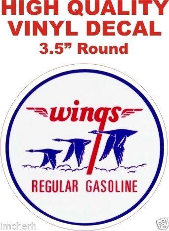 Vintage Style Wings Regular Gasoline