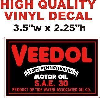 Veedol Motor Oil SAE 30