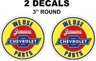 We Use Genuine Chevrolet Parts