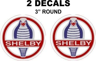 2 Ford ShelbyDecals - Custom Sizes Available