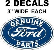 2 Geuine Ford Parts Decals