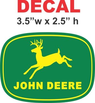 John Deere 1956 Decal