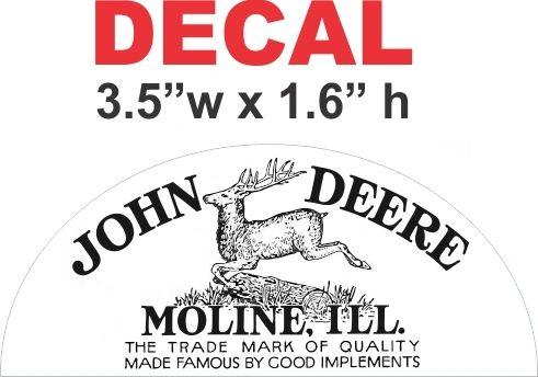 John Deere 1912 Decal