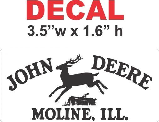 John Deere 1937 Decal