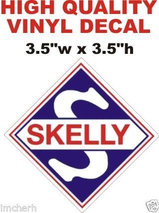 1 Skelly Gasoline Decal