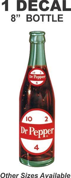 8 Inch Dr. Pepper Bott;e