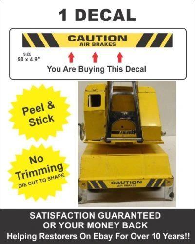 Mighty Dump Truck Car Carrier Crane Mobile Clam Bumper Caution Air Brakes