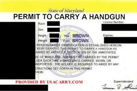 Maryland Wear and Carry Permit Training
