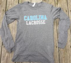 Carolina Lacrosse Long Sleeve Super Soft Shirt