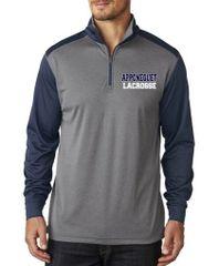 Apponequet Lacrosse Men's Tech 1/4 Zip Pullover Two Tone