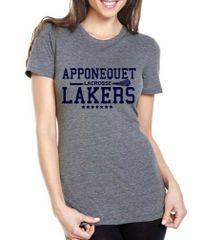 Apponequet Womens Lacrosse Triblend T-shirt