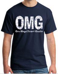 OMG - One Magnificent Goalie T-shirt (web)