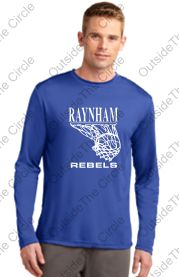 Raynham Rebels Shooting Shirt - Youth and Adult