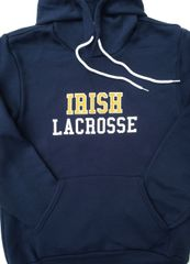 Irish Lacrosse Unisex Hooded Pullover Sweatshirt