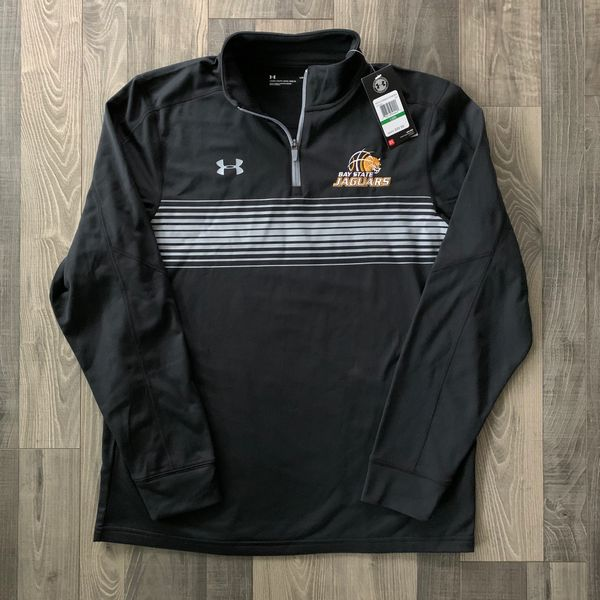 🎁 IN STOCK Under Armour Bay State Jaguars Men's Qualifier Novelty 1/4 Zip