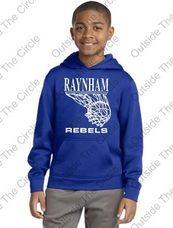 Raynham Rebels Hoody - Youth and Adult