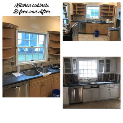 Kitchen Cabinet Refinishing In Princeton Nj Baci Painting Llc