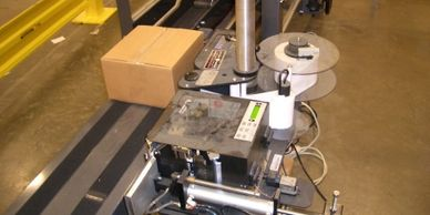 SPEDE lineside labeling solutions interface to PLCs, scales, cameras and OCR to ensure 100% accuracy