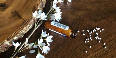 Only the minimal homeopathic dose should be taken to initiate the body's healing process.