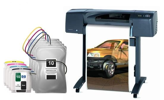 DesignJet 500/800 Inkbags and System