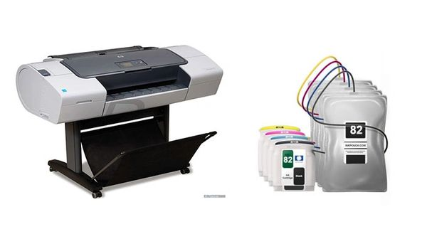 DesignJet 510 #82 Inkbags and System