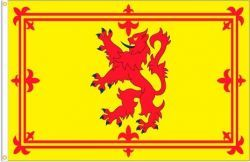 SCOTLAND RAMPANT LION LARGE 3' X 5' FEET COUNTRY FLAG BANNER .. NEW AND IN A PACKAGE