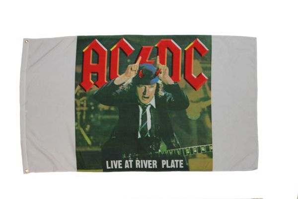 AC/DC 3' X 5' FEET FLAG BANNER .. NEW AND IN A PACKAGE