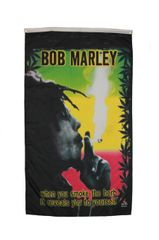 BOB MARLEY 5' X 3' FEET BANNER FLAG .. NEW AND IN A PACKAGE