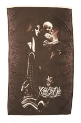RIDE OR DIE SKULL MOTORCYCLE BLACK 5' X 3' FEET PICTURE BANNER FLAG