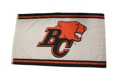 BC LIONS CFL LOGO 3' X 5' FEET FLAG BANNER