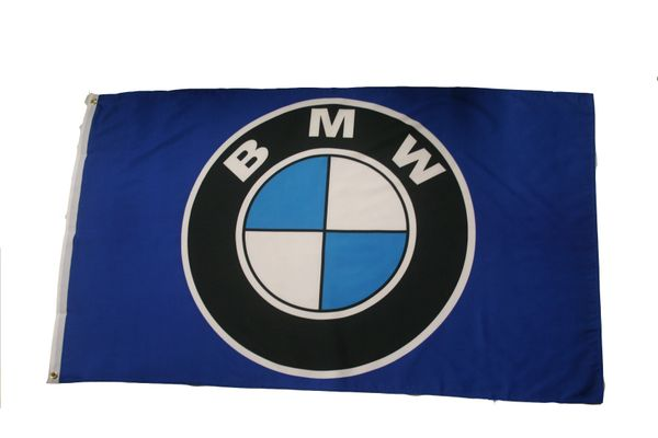 BMW LOGO 3' X 5' FEET FLAG BANNER