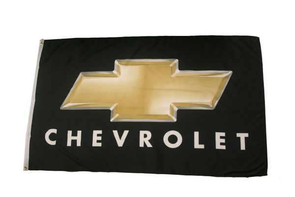 CHEVROLET LOGO 3' X 5' FEET FLAG BANNER
