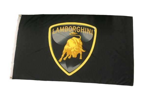 LAMBORGHINI LOGO 3' X 5' FEET FLAG BANNER