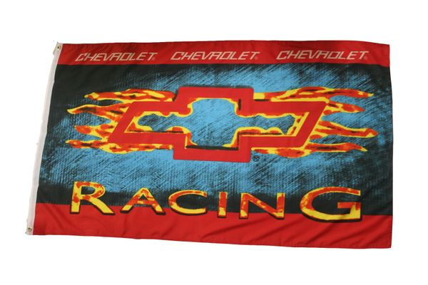CHEVROLET RACING 3' X 5' FEET FLAG BANNER