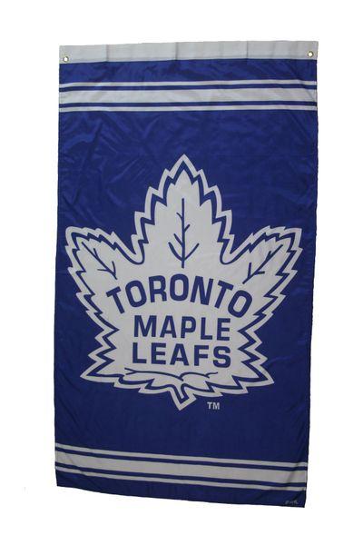 TORONTO MAPLE LEAFS 5' X 3' FEET NHL HOCKEY ( NEW ) LOGO BANNER FLAG