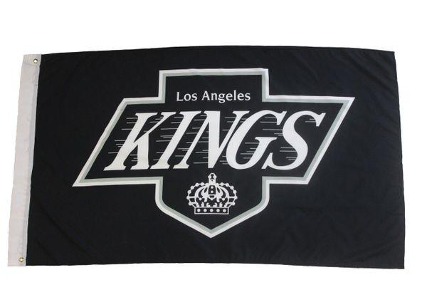 LOS ANGELES KINGS 3' X 5' FEET NHL HOCKEY FLAG BANNER