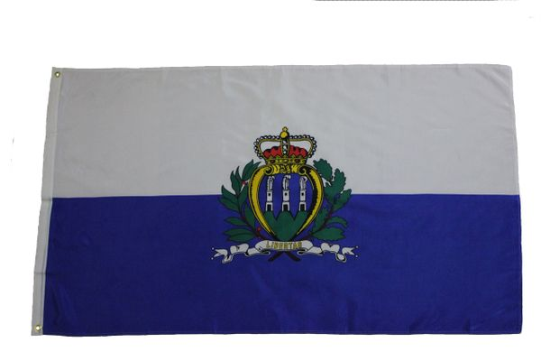SAN MARINO OLD 3' X 5' FEET COUNTRY FLAG BANNER